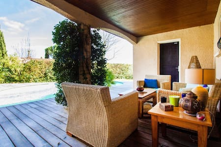 Chambre 15m2   piscine, terrasses - Colomiers - Huis
