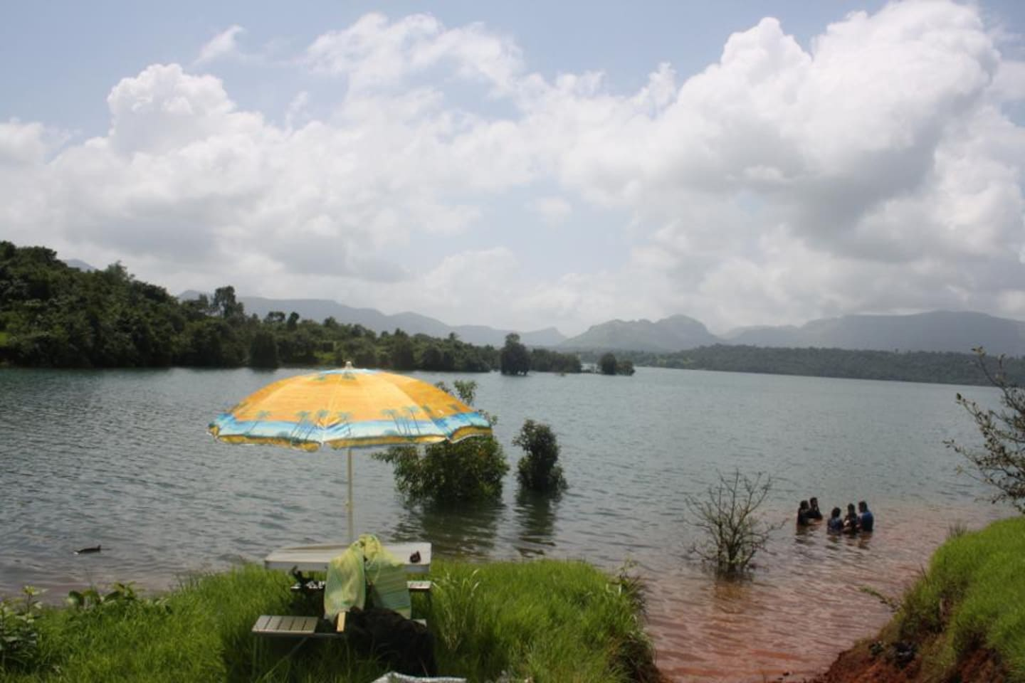 View of Lake from Farm house