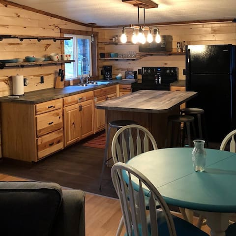 Recently renovated rustic home on Little Cormorant