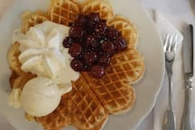 This Area is Famous for its Waffels - Ask for Restaurant tipps!