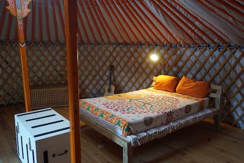 Cosy Private Yurt in our Garden