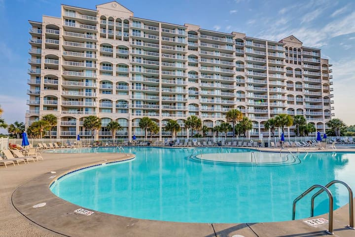 North Myrtle Beach Condo Waterway and Marina Views