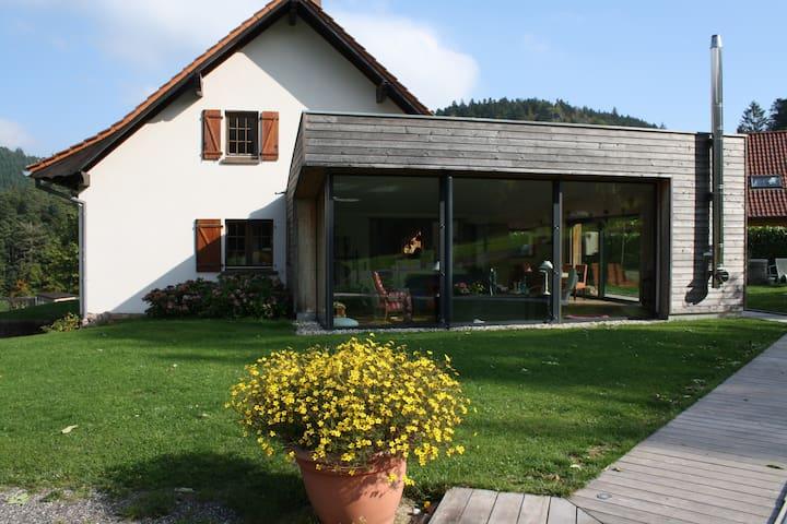 à l'orée du bois: Chambres d'hôtes - Oberhaslach