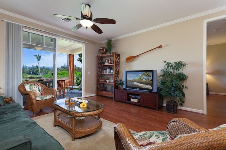I3 Waikoloa Beach Villas.  BBQ Grill on the Lanai!