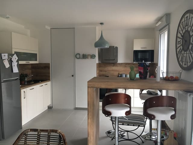 Charmant appartement sur terrasse de 30 m² + tram