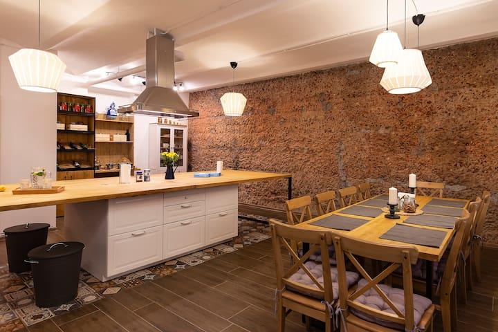 Кулинарная студия рядом с Исаакиевской площадью