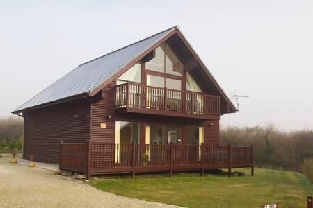 Enderley Lodge 3* Gold Award Cornish Holiday Lodge - Winnard's Perch - Σπίτι