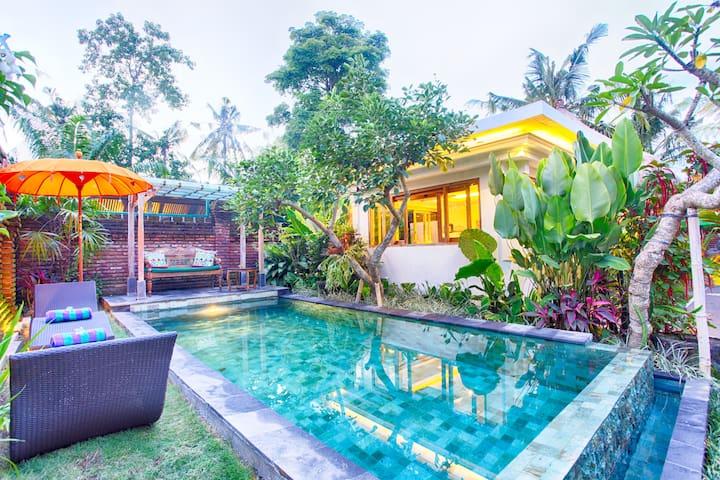 Romantic Swimming Pool
