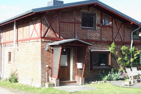 Fachwerkhaus in Seenähe
