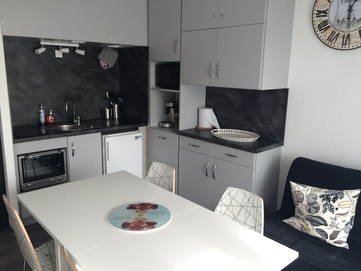 Appartement moderne au pied de la plage du Penon