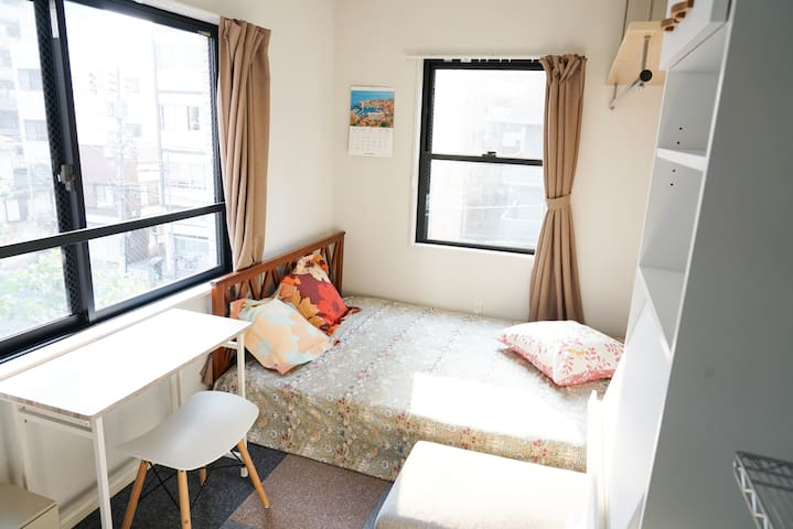 【New】3min walk near station  UenoPark/  Wifi#401