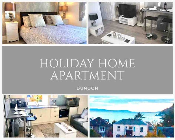 REST & RELAX - DUNOON TOWN CENTRE HOLIDAY HOME...