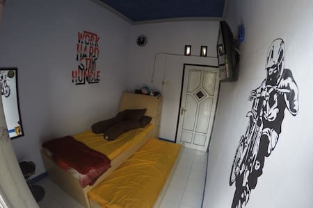 Backpacker room for two person.