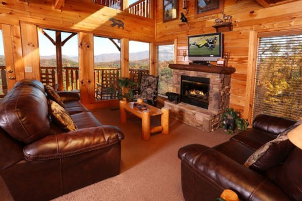 Living Room Living Room. His Amazing Grace   Cabins for Rent in Sevierville  Tennessee