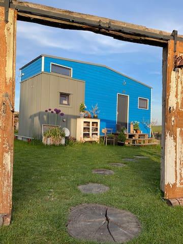 Einfachheit und Abenteuer, wohnen im Tiny House