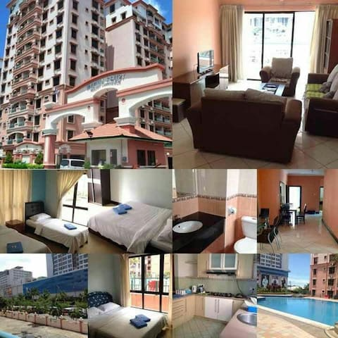 Cozy Fully Furnished 3Bedroom Condo - Kota Kinabalu