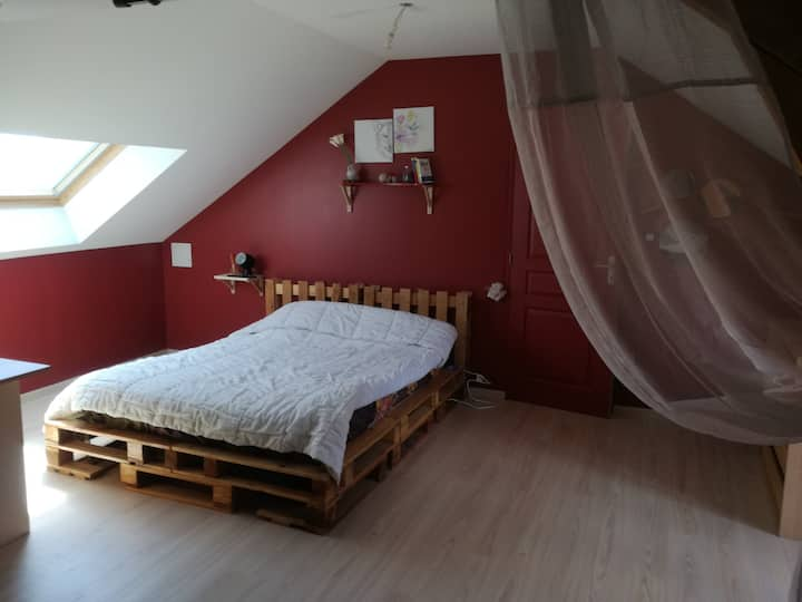 Chambre à Villemandeur  Montargis chez L'habitant