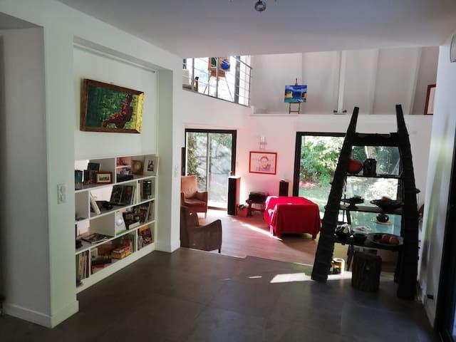 Chambre Zen dans Villa près centre de Mérignac