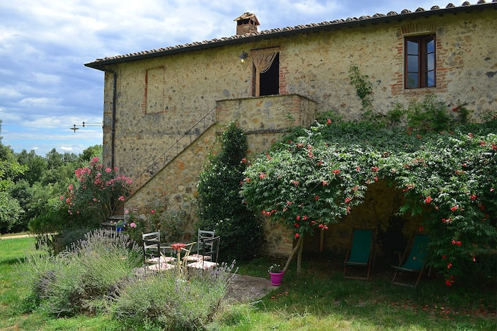 Agriturismo between heaven and earth