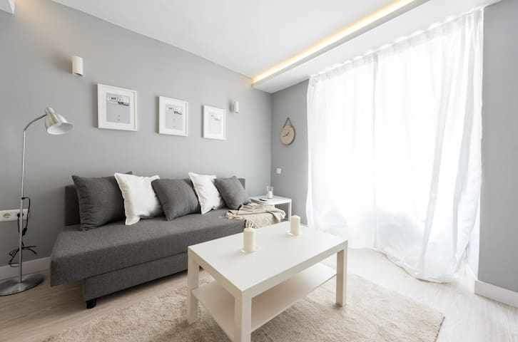 Warm and comfortable apartment in this exclusive neighborhood of Madrid
