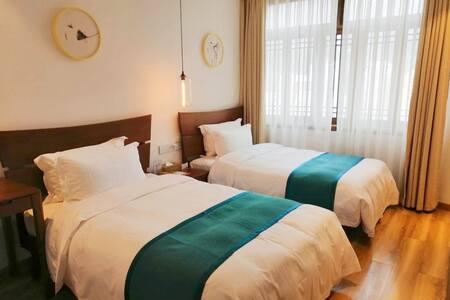 舒适标准间 · 贰号院 · 青艾文宿酒店