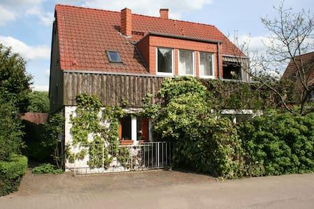 Idyllische Wohnung am Rhein, 70 m2