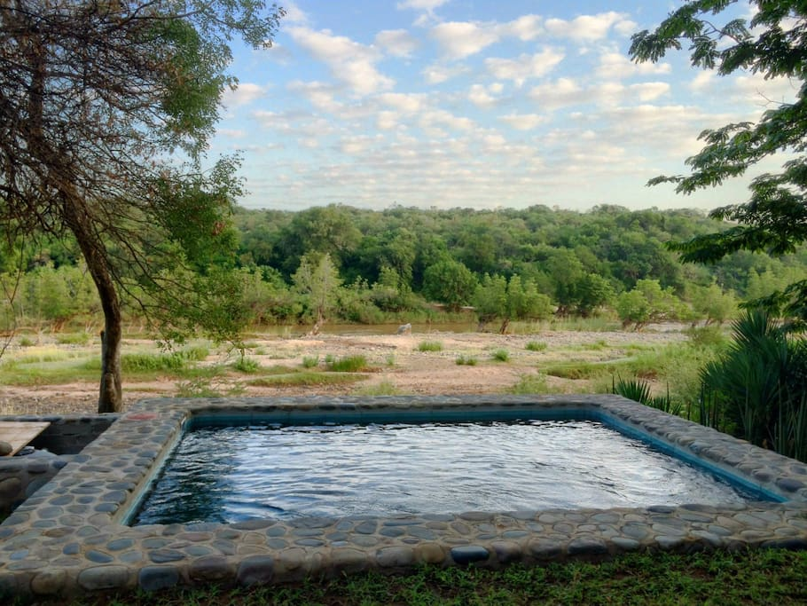 Private Pool overlooking the Olifants River
