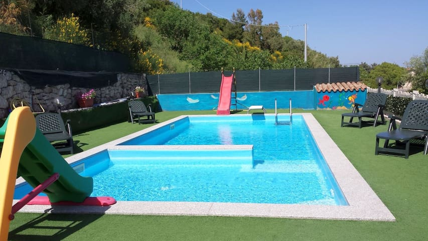 The big private pool