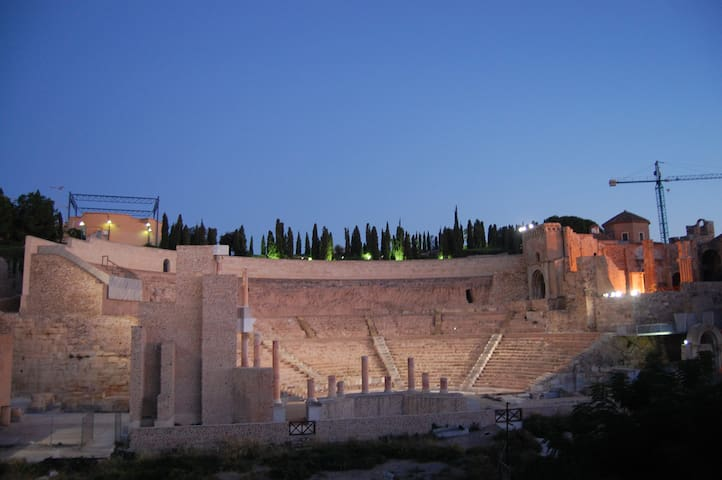 Roman Theatre Apartment