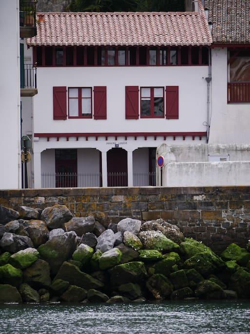 Maison en face du passage René Choquet