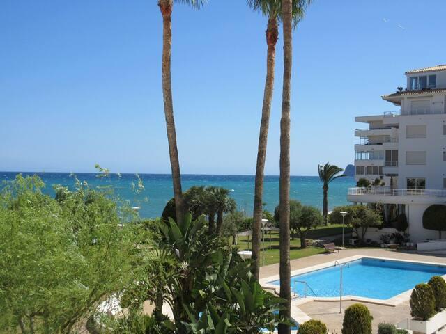 Romantic apt. direct beach and pool