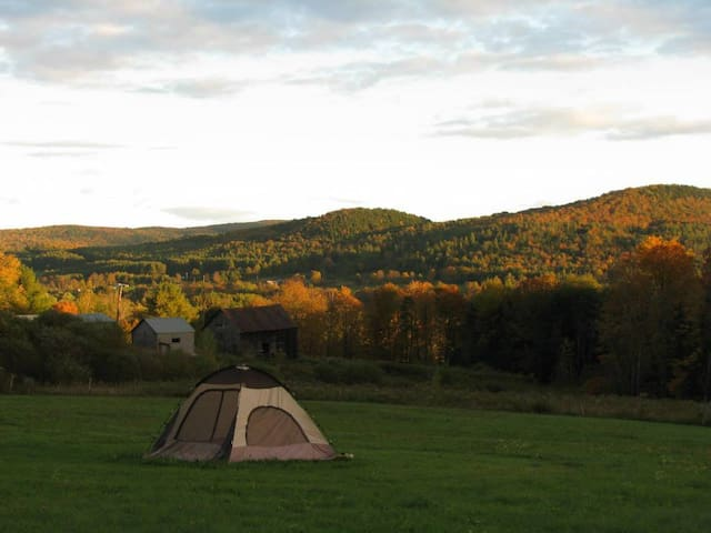 Magical Camping in Vermont - Bethel - Muu