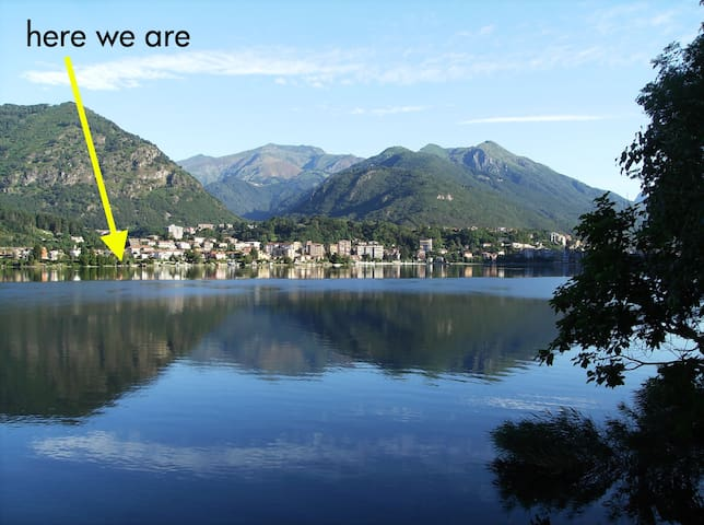 Apartment and garden on the lake - Omegna - Apartament