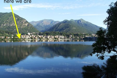Apartment and garden on the lake - Omegna