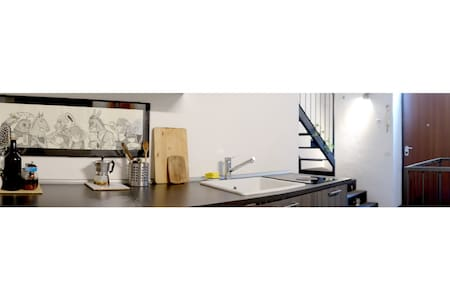 Studio flat between Central station and Lima MM - Milano - Loft