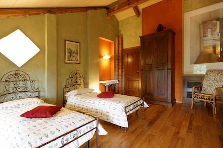 B&B Cascina Belsito, TWIN ROOM - Biella - 住宿加早餐