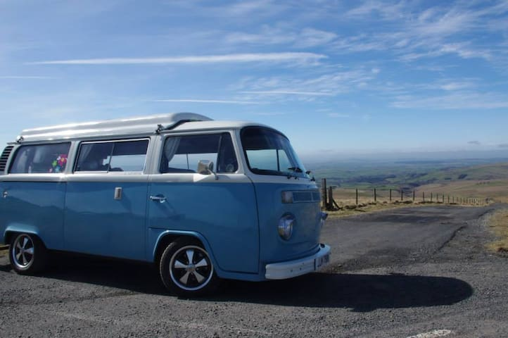 Skye The Blue Camper - Classic VW  - Stamfordham - Trailer