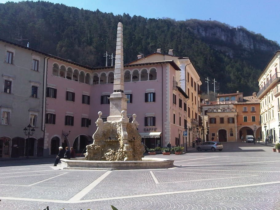 The famous square
