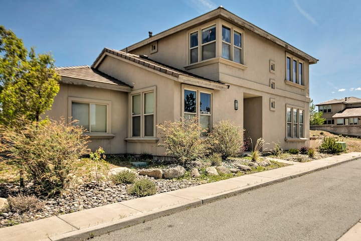 Reno House w/ Zen Garden - 4 Mi. To Midtown!