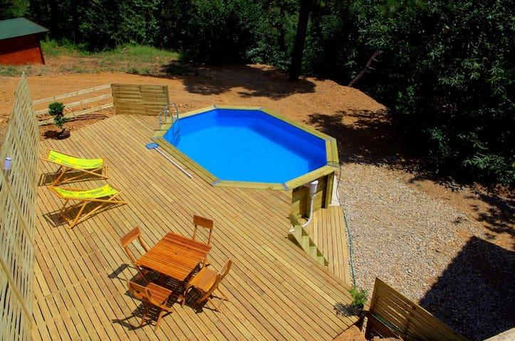 Tresmont - Gîte en Cevennes - Saint-Jean-du-Pin - Casa