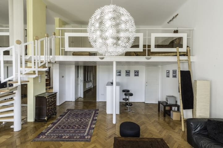 Stylish Loft on the Danube - Budapest - Loft