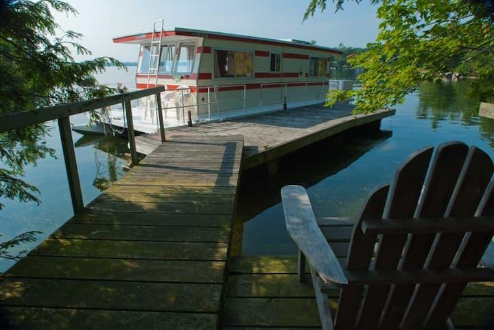Your floating river cottage