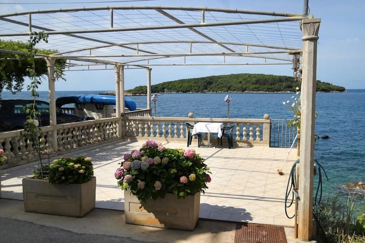 Studio flat near beach Molunat, Dubrovnik (AS-8964-b)