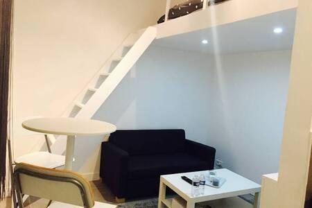 Studio refait à neuf - Puteaux - Apartamento