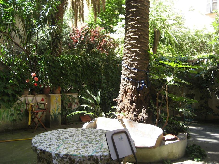 il giardino, the garden