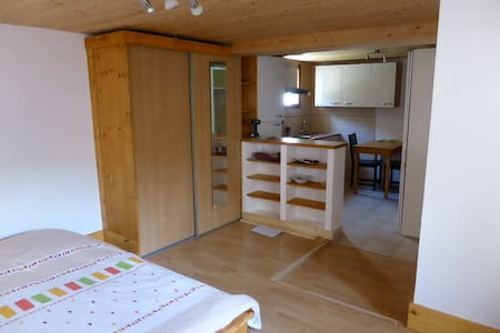 Independent studio in my house - Corcelles-les-Monts - Apartment