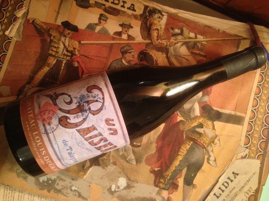 Le vin du domaine