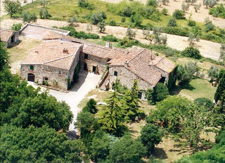 Terrace on the Chianti Classico