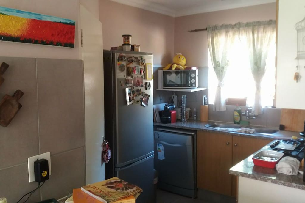 Shared Kitchen with owners