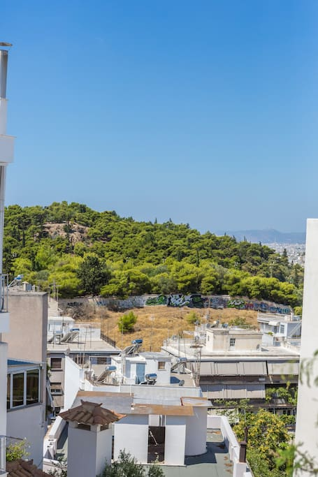 Great view and private terrace